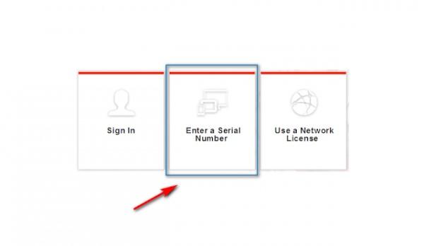 """chọn """"enter a serial number"""", sau đó bạn tiếp tục ấn chọn Agree và tiếp đến chọn Activate"""