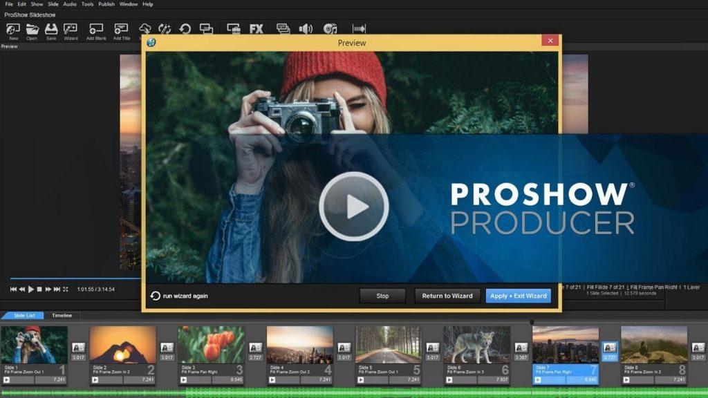 Proshow Gold có rất nhiều những tính năng sử dụng nổi bật
