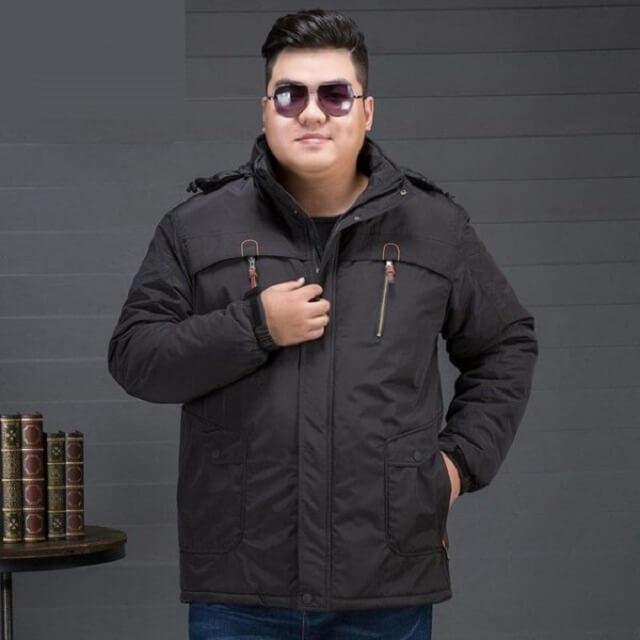 Lựa chọn áo khoác nam cho người mập vừa vặn